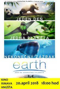 EARTH: deň na zázračnej planéte @ EARTH: deň na zázračnej planéte