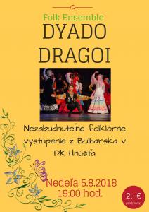 Folklórny súbor z Bulharska