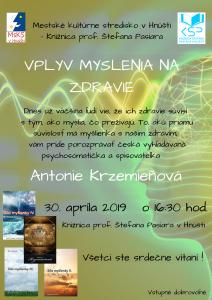 Odborná prednáška v Knižnici prof. Š. Pasiara